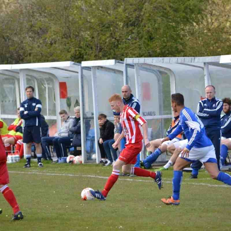 Holywell Town 0-2 Caersws (Saturday 23rd April 2016) Pictures courtesy of Steve Jones
