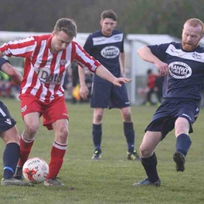 Holywell Town 2-1 Llanfair United (Wednesday 20th April 2016) Pics courtesy of Keith Clayton