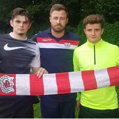 New players sign for the Club