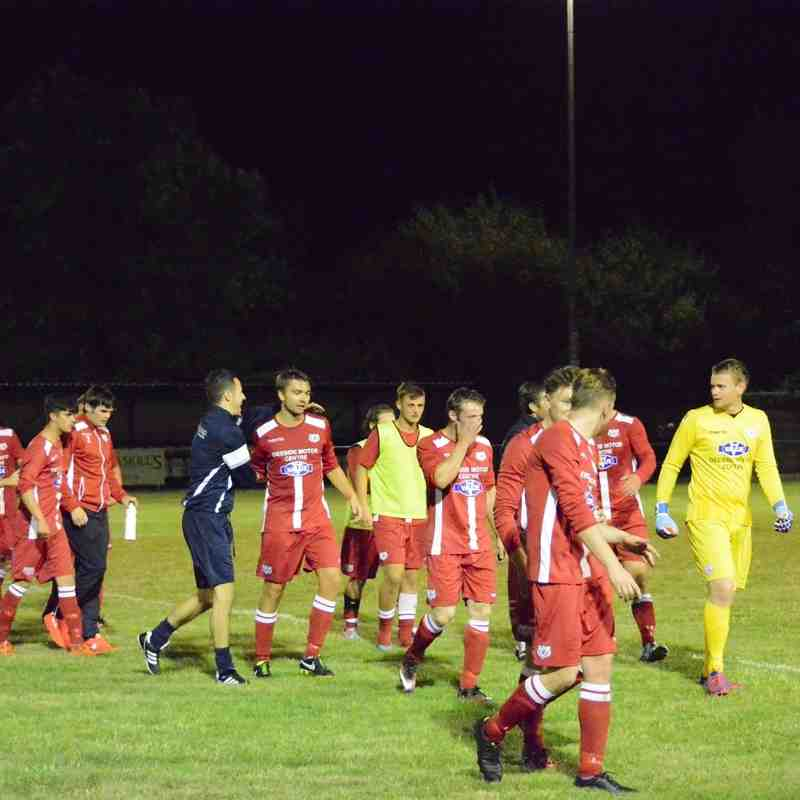 Flint Town United 1-2 Holywell Town (Wednesday 30th August 2016)