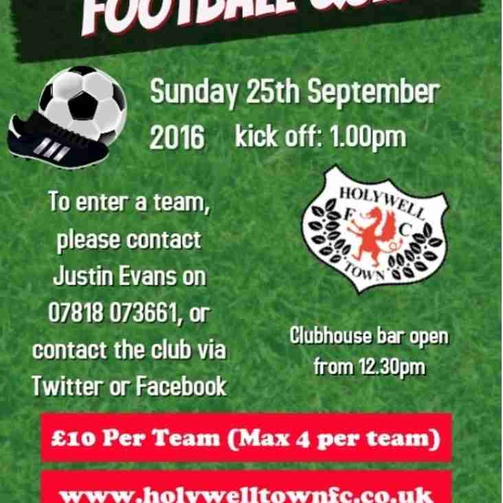 Holywell Town FC Football Quiz - 25th September 2016