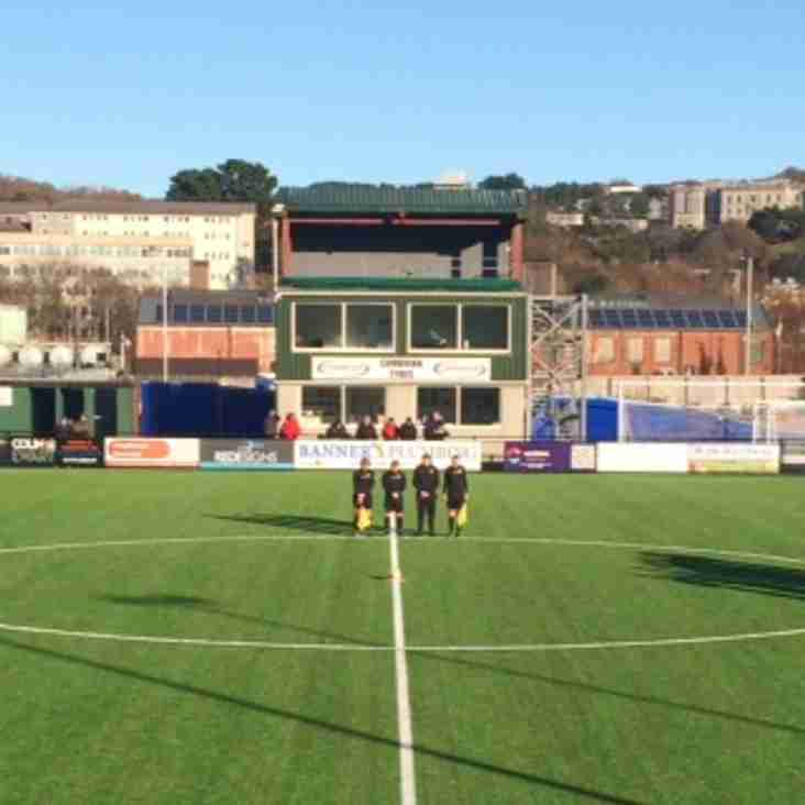 Town bow out of Welsh Cup at Aberystwyth