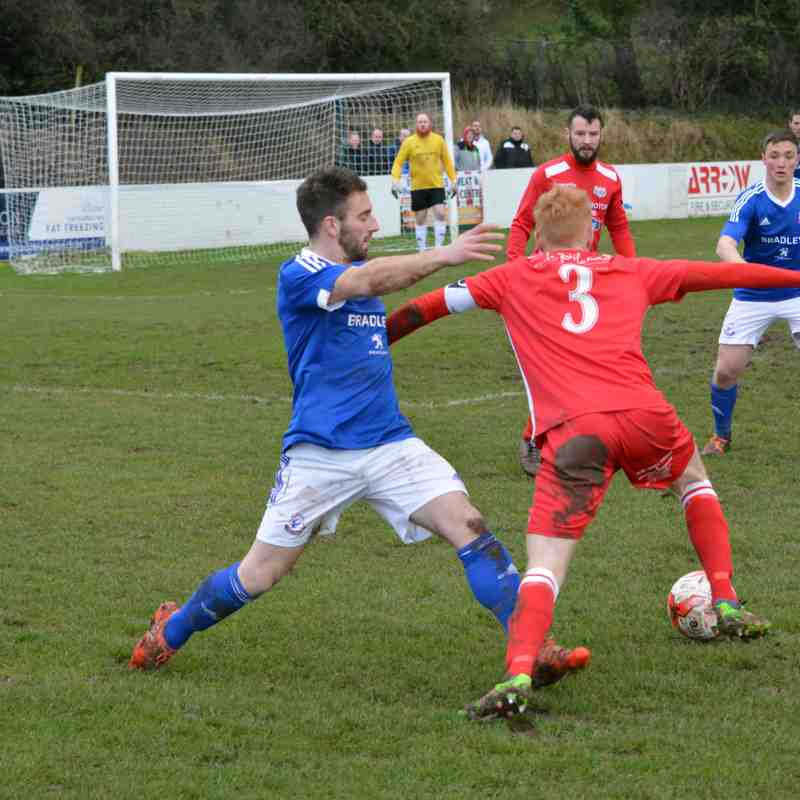 Holywell Town 1-1 Caersws (28th January 2017)