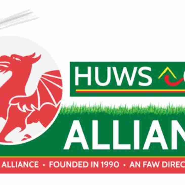 ** Huws Gray Alliance League Cup Draw **