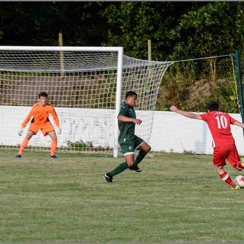 Holywell Town 2-0 Tranmere Rovers (Pictures by Chris Noble) 1st August 2017