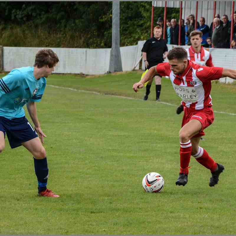 Holywell Town 2-2 Rhyl Saturday 19th August 2017 (Chris Noble) (c)