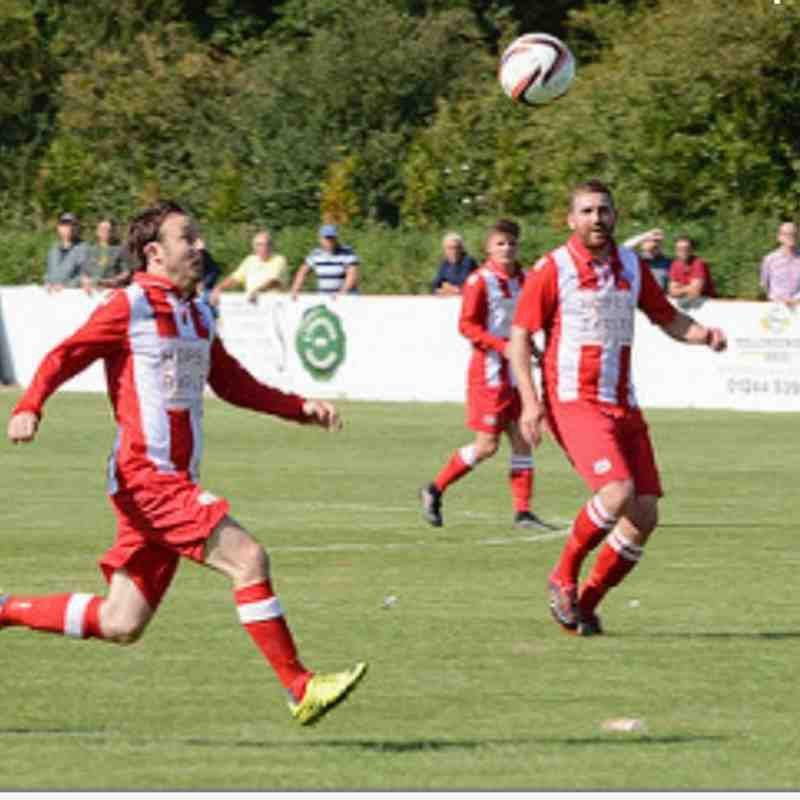 Holywell Town 2-5 Airbus Broughton 26th August 2017 (c) Chris Noble