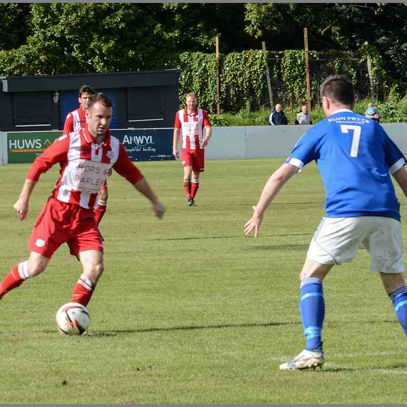 Holywell Town 3-1 Caersws 16th September 2017 (c) Chris Noble