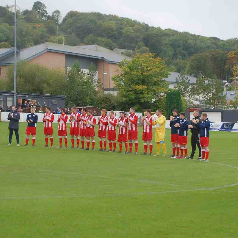 Holywell Town 3 - 0 Corwen.  Welsh Cup Rd : 8th October 2017 (thanks to Lee Douglas)