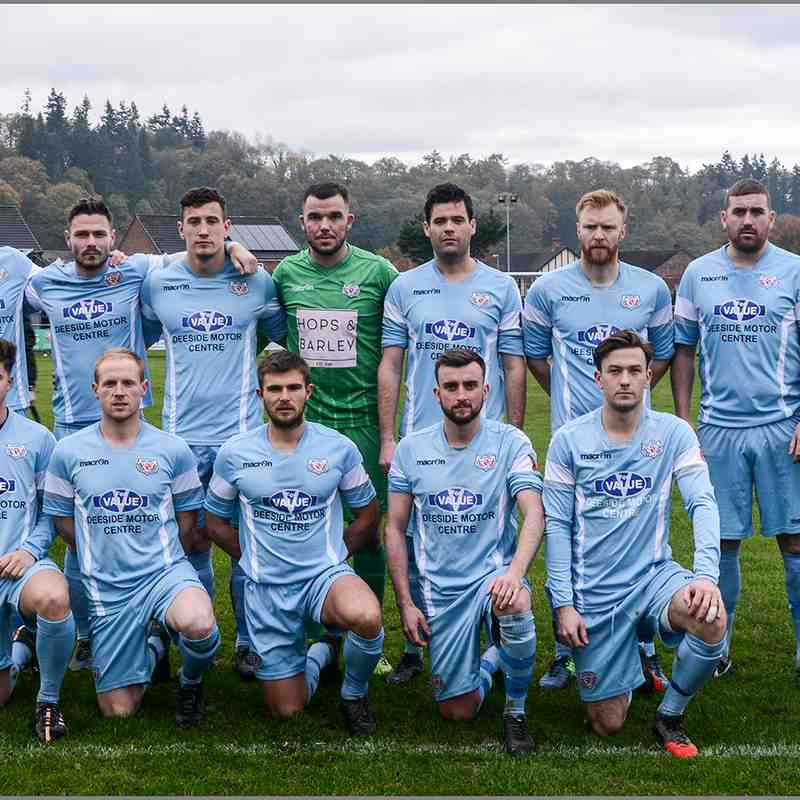 Guilsfield 0-0 Holywell Town Saturday 11th Nov 2017. (c) Chris Noble