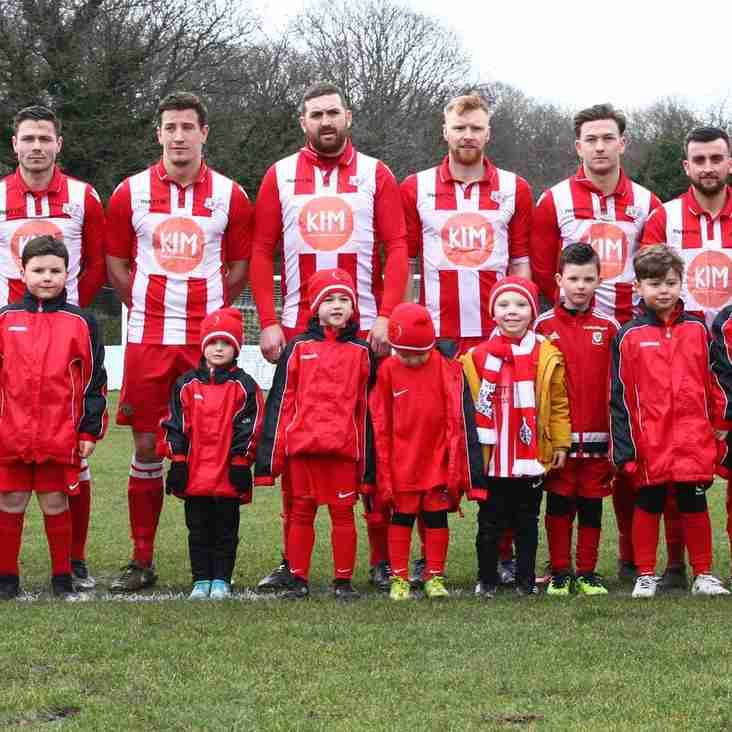 Holywell Town Juniors enjoy their day at Halkyn Road.