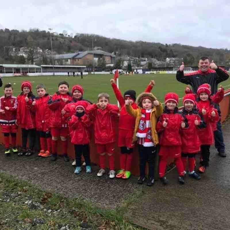 Holywell Town U6's & U7's Matchday Experience - 3rd Feb 2018