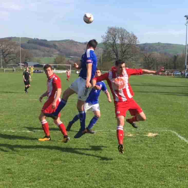 Wellmen win on the road at Caersws