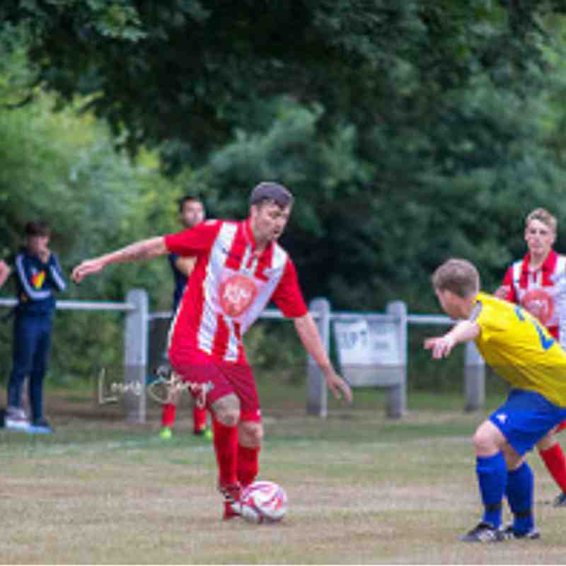 Heswall 1 - 5 Holywell Town : Pre-Season July 2018 (Thanks to Lewis Storey for the pics)