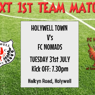 Holywell Town 1-2 FC Nomads