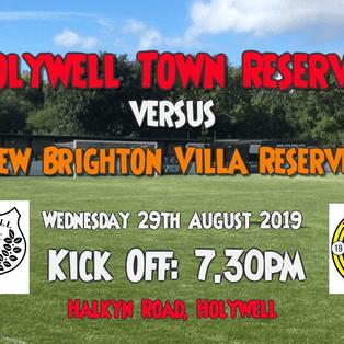 Holywell Town Reserves 2-1 New Brighton Villa Reserves