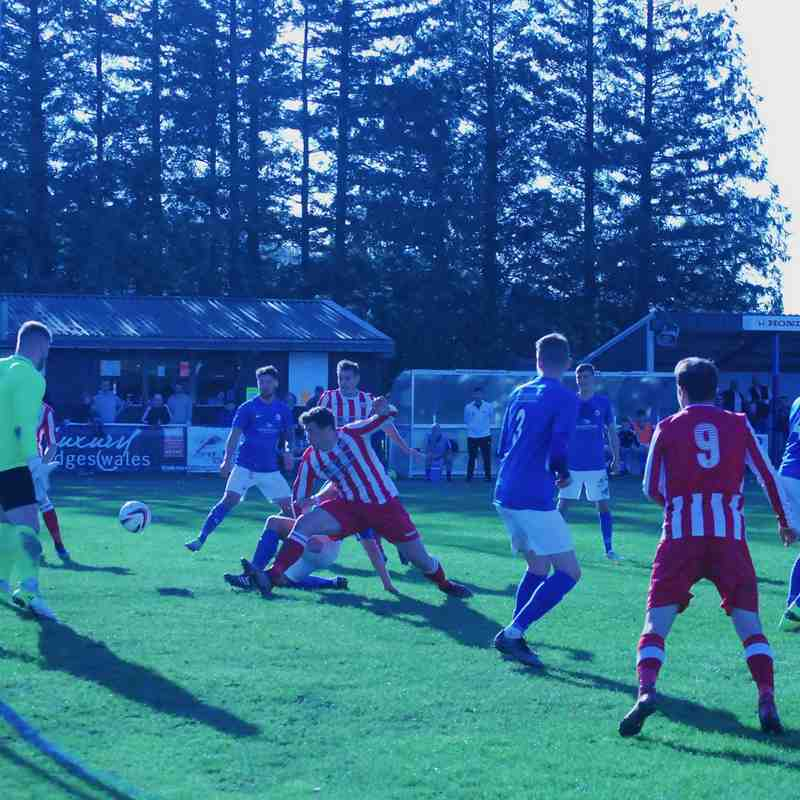 Caersws 3-2 Holywell Town AET (Welsh Cup Rd.1 - 20th Oct 2018) Thanks to Lee Douglas