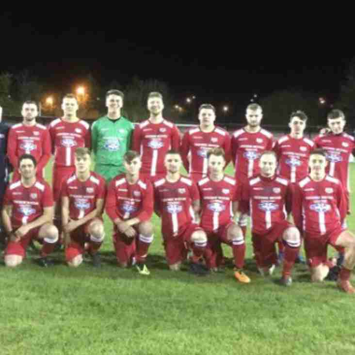 Reserves ease to victory over Brymbo Reserves