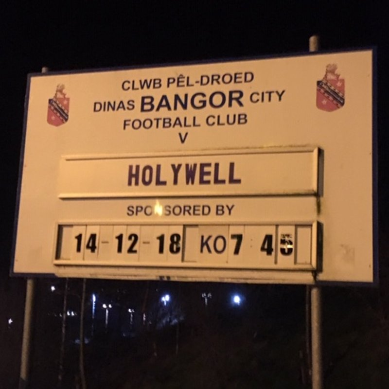 Second Half collapse see's Wellmen fall to defeat at Bangor