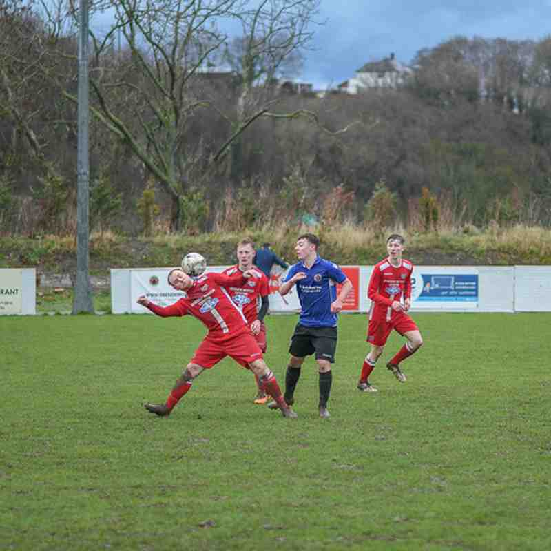 Holywell Town Reserves 3-2 Cefn Albion Reserves, Saturday 26th January 2019 (Lee Douglas)