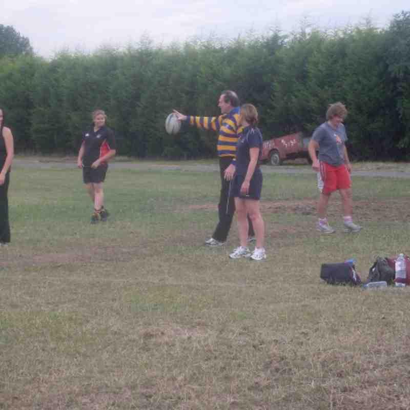 Ladies Training 2010-11