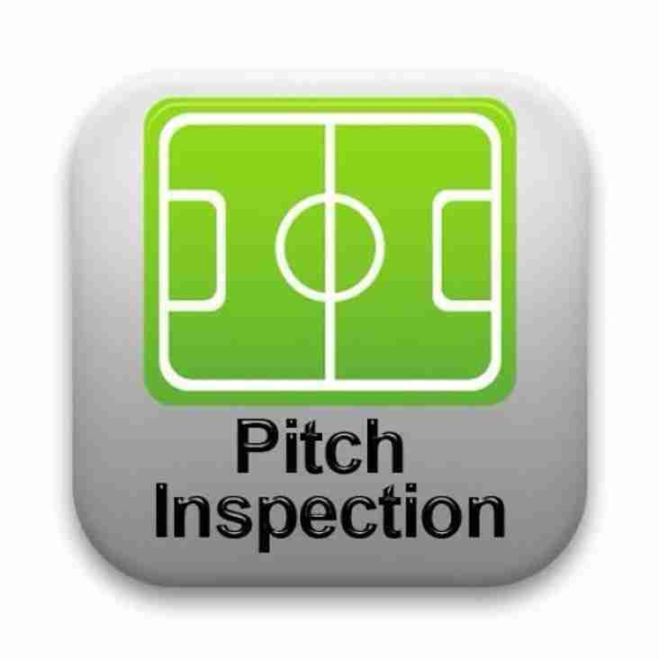 PITCH INSPECTION FOR ATHERSLEY GAME