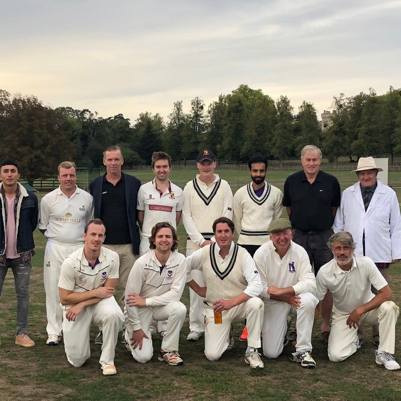 Royal Household CC 207/9 - 208/3 Cricketers Club of London