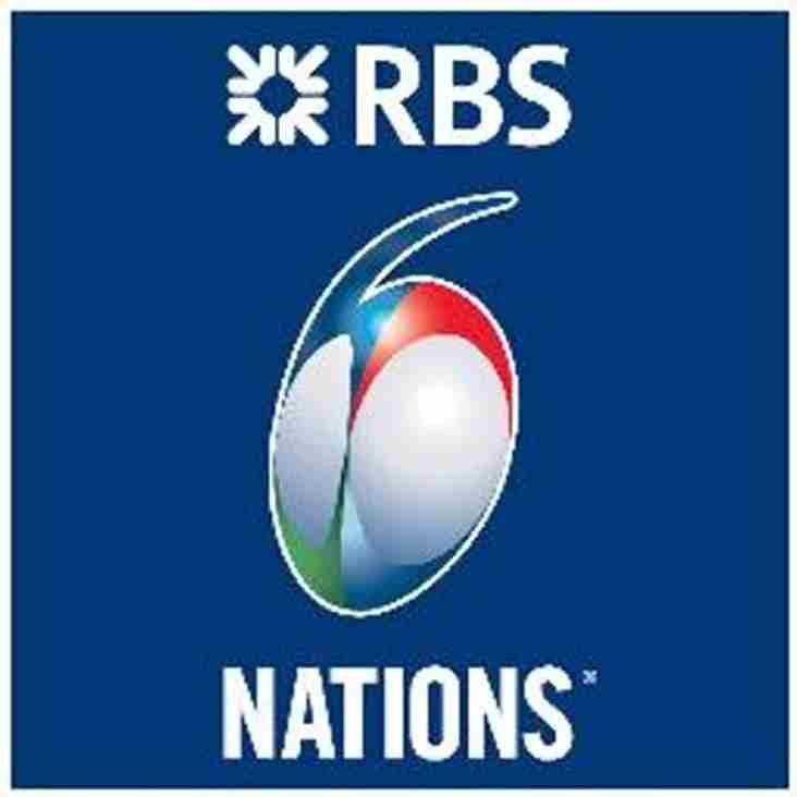 RBS 6 Nations tickets available for Rockcliff members - deadline 24/09