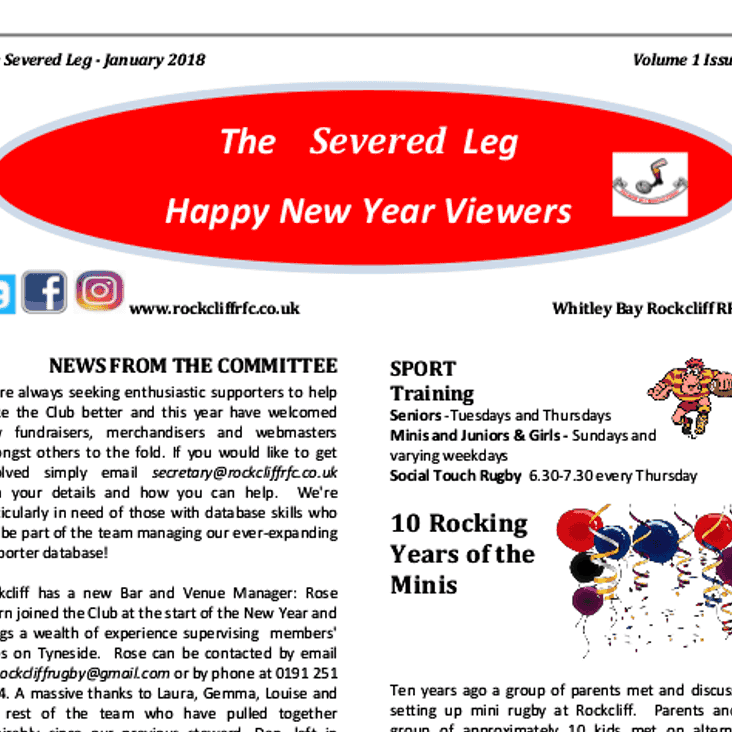 The Severed Leg - read all about it!