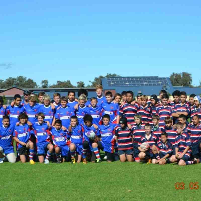 Lions U13s vs Bunbury 2013