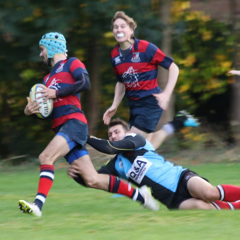 Ath 1st XV  19 - 24 Shepshed 1st XV