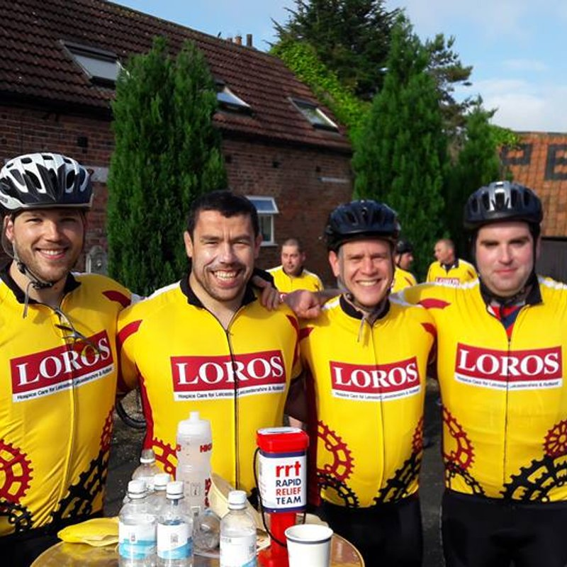 The Ath Ride to Skegness for LOROS