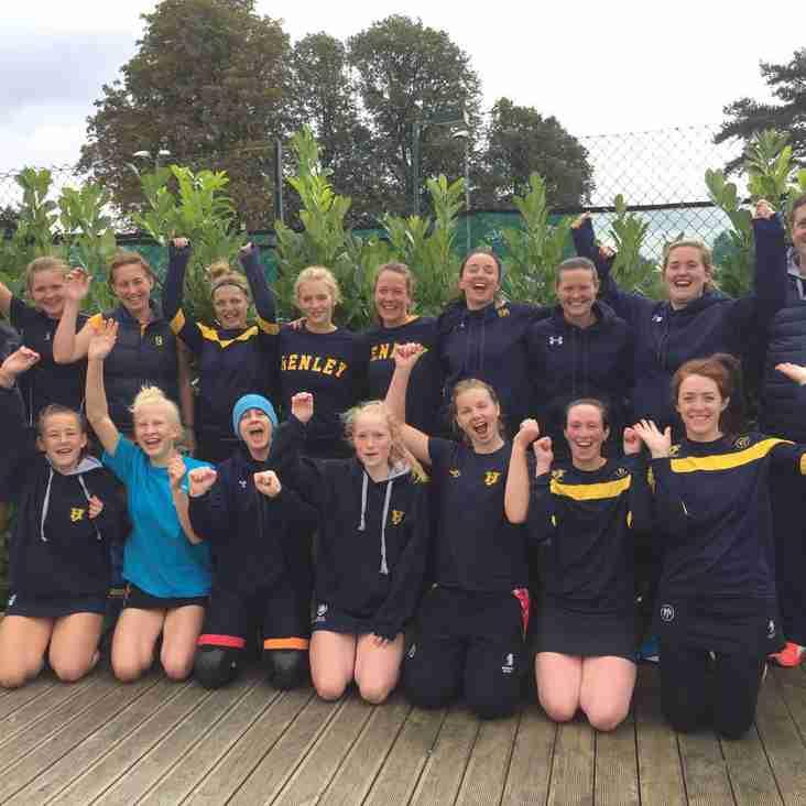 Ladies 1s win Oxfordshire Tournament