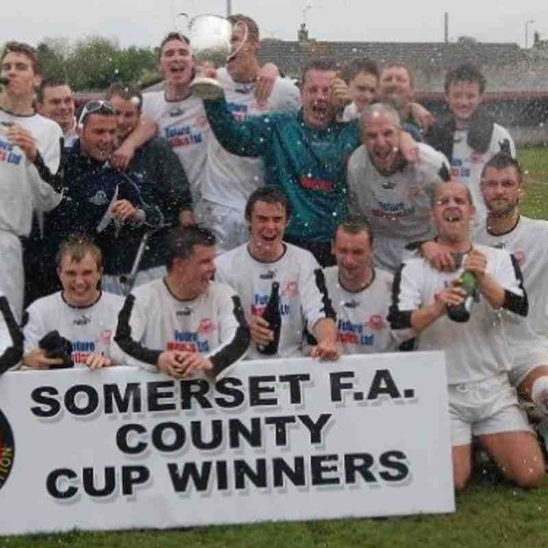 Somerset F.A County Cup Winners 2008