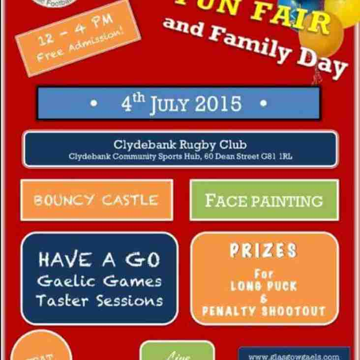 Glasgow Gaels family fun day