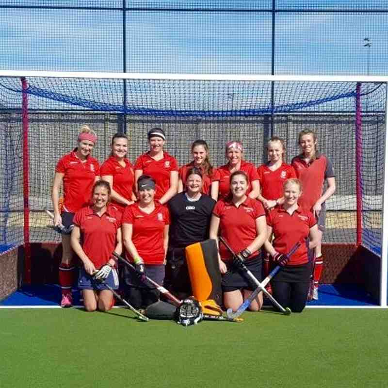 Weymouth Ladies 1's 2016/17