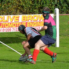 Camborne Vets v Greenmount Carpets, 15th Oct 2016