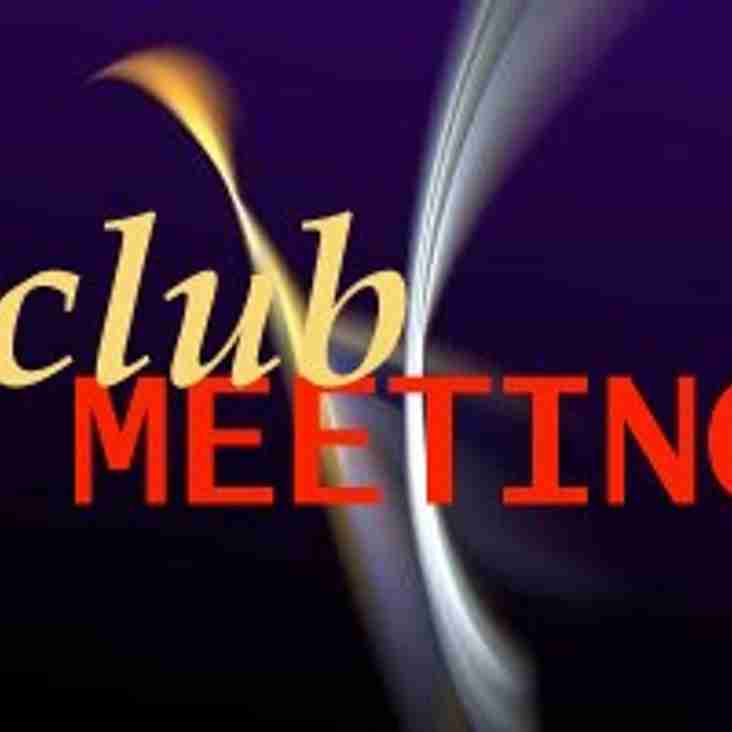 Club Meeting