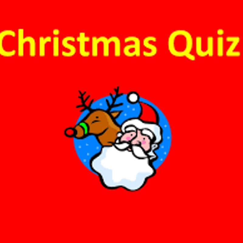 Christmas Quiz - Friday 8th December - In the bar