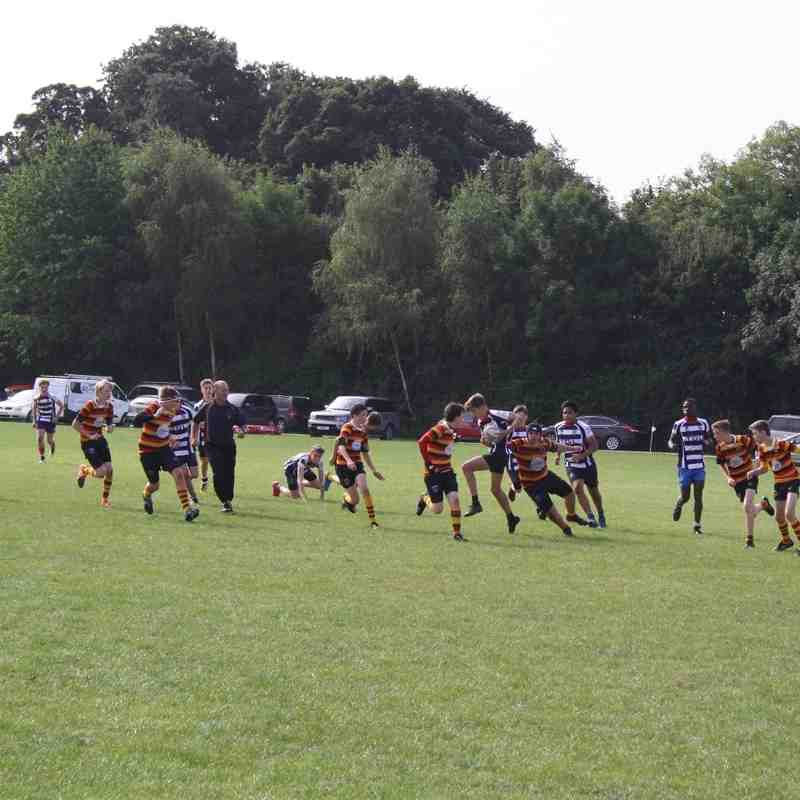 Banbury U15s v Bicester 18-09-16