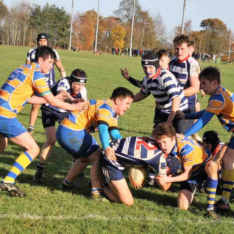 U16s v Old Leamingtonians