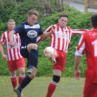 Llanfair in narrow defeat in final league game