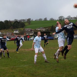 Llanfair equalise three times to earn a draw