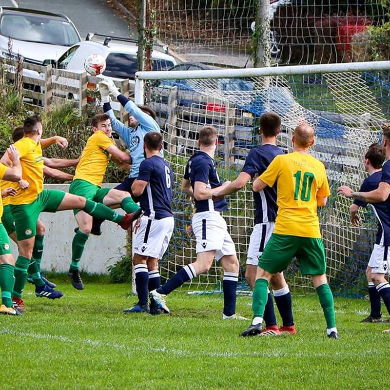 Llanfair left frustrated after defeat to Llanidloes