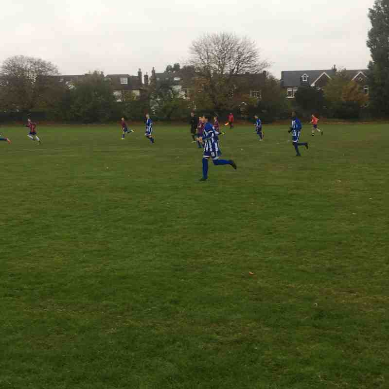 U14 Storm vs Teddington Athletic (12-Nov-2016)