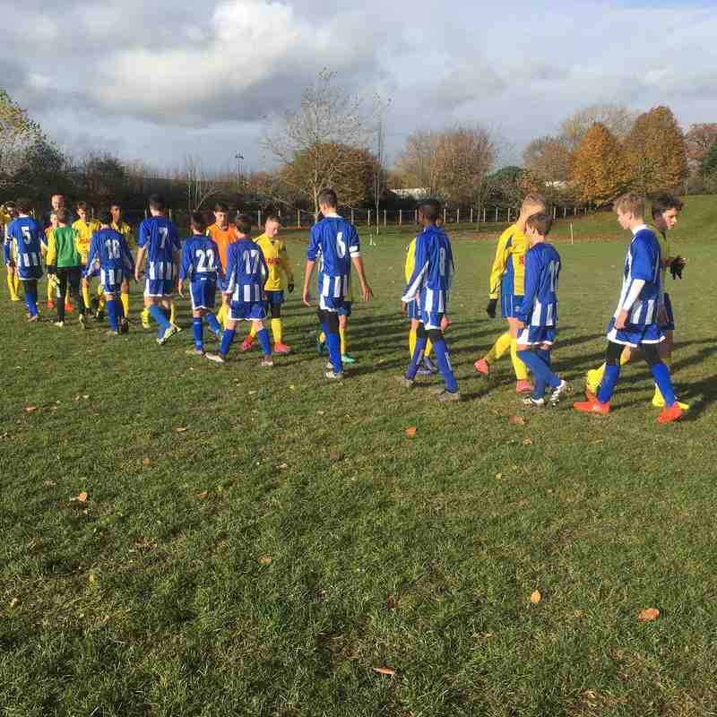 U14 Storm vs Ascot United (19-Nov-2016)