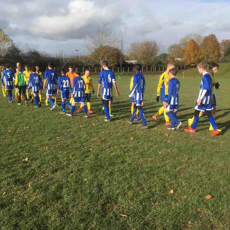 U14 Storm vs Ascot United (19-Nov-2016)