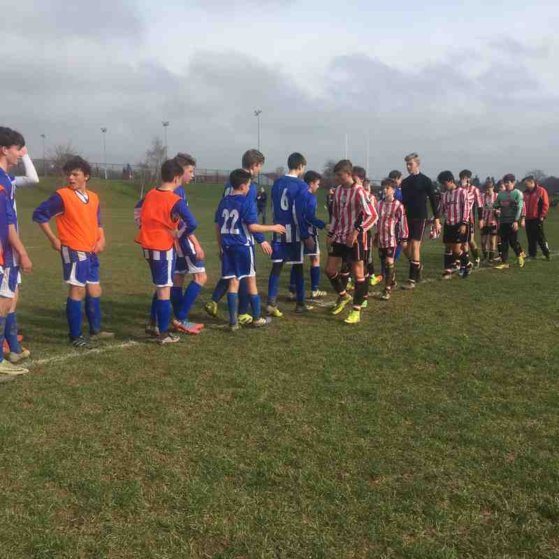 U14 Storm vs Sandhurst Town (11-March-2017)