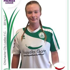 Chichester City Ladies Panini Stickers 2016-2017