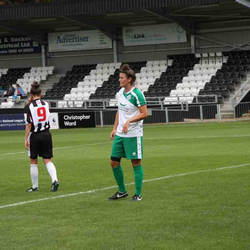 First Team v Maidenhead United LFC - Sun 28 Aug 2016
